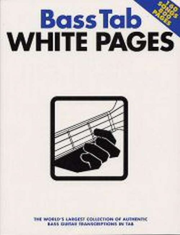 Bass Tab White Pages (Book)