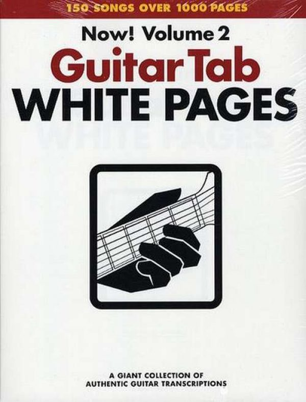 Guitar Tab White Pages Volume 2 (Book)