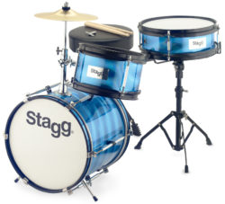 Driedelige junior-drumset met hardware
