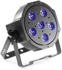 LightTheme™ ECOPAR 6 spot met 6 x 10 watt RGBWA (5 in 1) LED