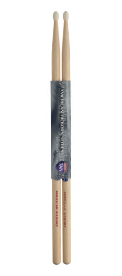 Paar Drumstokken in Hickory/7AN - Nylon Tip